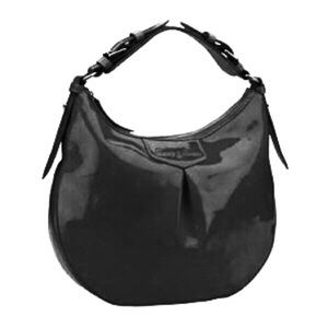Dooney & Bourke Luisa Black Patent Leather Hobo